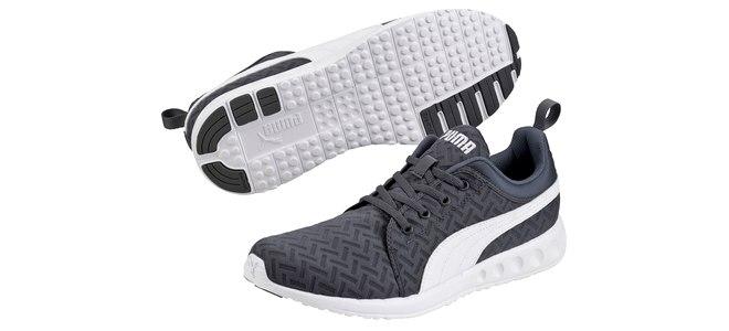 Die Puma-Laufschuhe Carson Runner pwrCOOL werden durch die Gutschein-Aktion sehr günstig