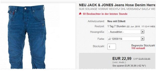 Reduzierte Jack & Jones Jeans