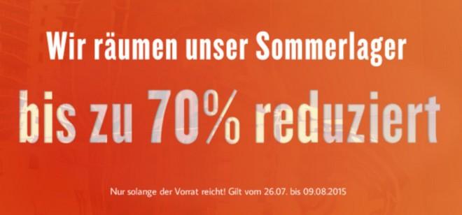 Tom Tailor Sommerlager-Sale