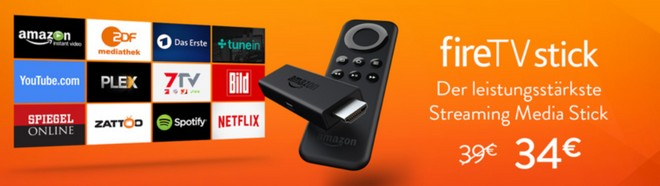 Amazon Fire-TV-Stick mit 5 Euro Rabatt