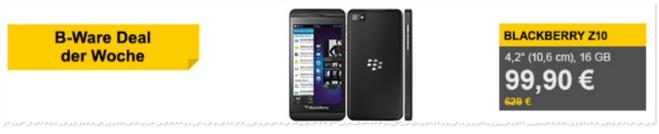 BlackBerry Z10 als B-Ware