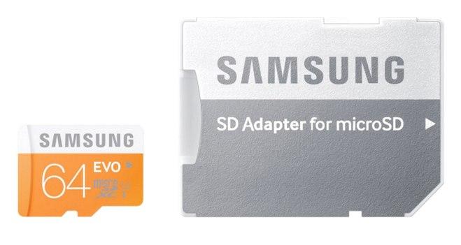64 Samsung MicroSDXC Speicherkarte bei Saturn via eBay für 19 €