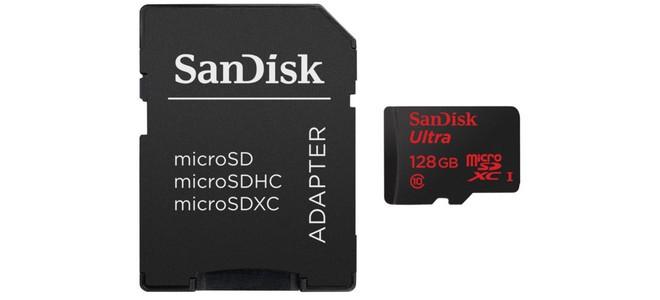 Sandisk microSDXC-Speicherkarte mit 128GB