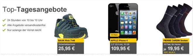 SIM-Lock-freies Apple iPhone 4 ohne Vertrag