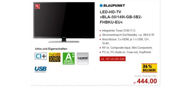 Blaupunkt BLA-50/149I-GB-5B2-FHBKU-EU