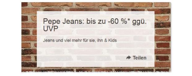 Pepe Jeans Sale bei eBay