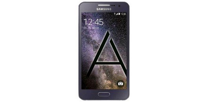Samsung Galaxy A3 ohne Vertrag als Saturn-Montagsangebot bis 31.8.2015 für 159 €