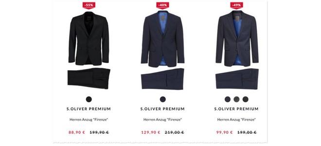 Sir Oliver Firenze im Anzug-Sale