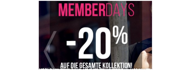 Hunkemöller Memberdays - online bis 1.11.2015