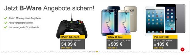 iPad mini Demoware-Angebot