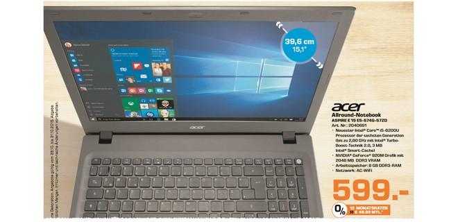 Acer Aspire E 15 E5-574G-57ZD