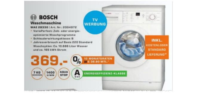 Bosch WAE 28330 Waschmaschine