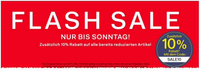 Fashion ID Flash-Sale 2015