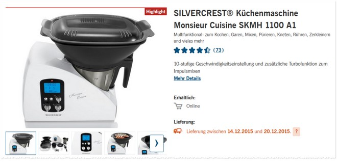 LIDL Thermomix Alternative