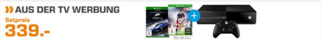 Saturn TV-Angebot: Xbox-Bundle ab 7.10.2015 im Markt