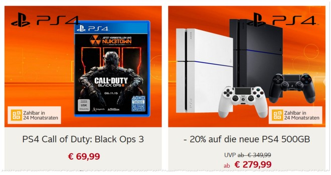 Sony PlayStation 4 Angebot bei OTTO.de