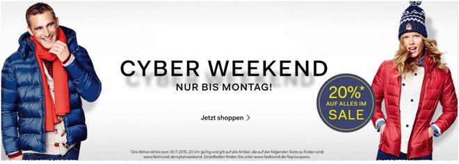 Fashion ID Cyber Weekend