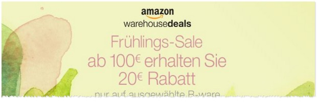 Amazon-Fruehlingssale