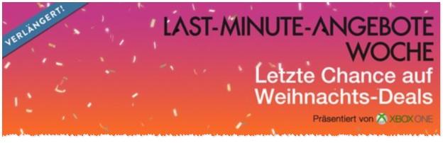 Amazon Last Minute Angebote bis 22.12.2015 verlängert
