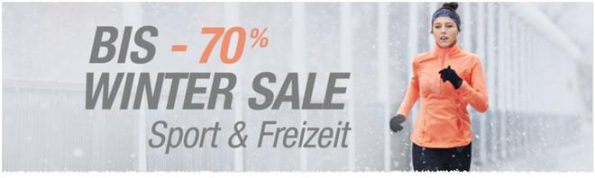Amazon Winterschlussverkauf 2016 auf Sport & Freizeit