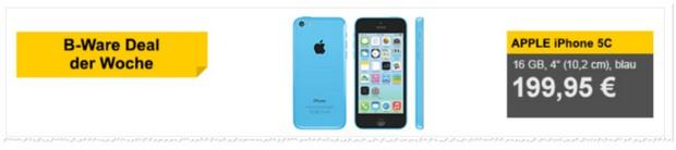 Apple iPhone 5C: B-Ware-Angebot
