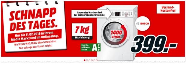 Bosch Waschmaschine im Angebot bei Media Markt