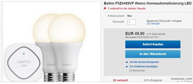 Belkin Wemo LED