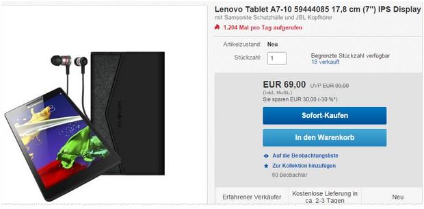 Lenovo Angebote