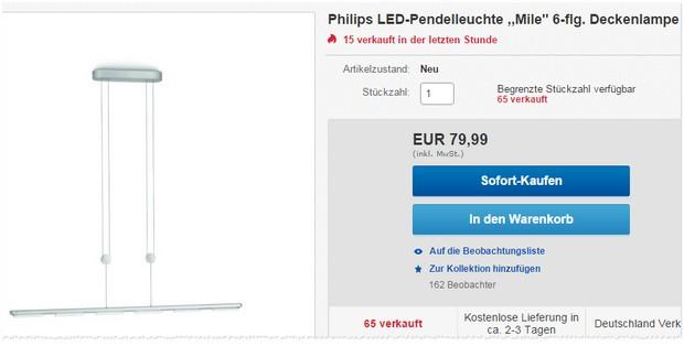 Philips Pendelleuchte