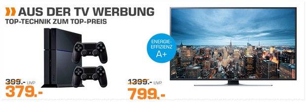 PlayStation 4 Angebot aus der Saturn-Werbung