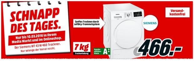 Siemens Trockner WT43W460