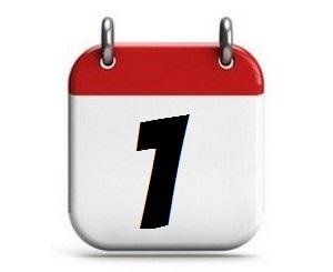 1. Tag des Monats