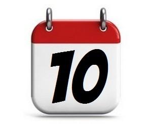 10. Tag des Monats