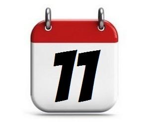 11. Tag des Monats