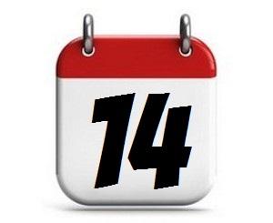 14. Tag des Monats