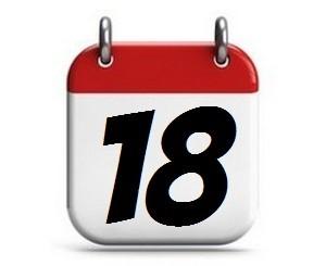 18. Tag des Monats