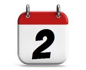 2. Tag des Monats