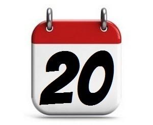 20. Tag des Monats