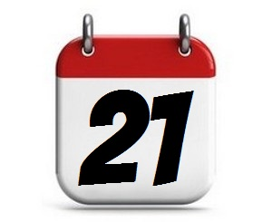 21. Tag des Monats