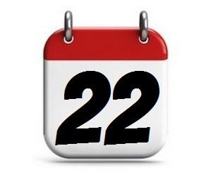 22. Tag des Monats