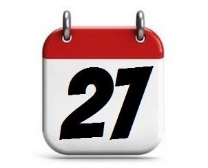 27. Tag des Monats