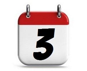 3. Tag des Monats