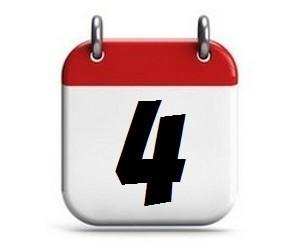 4. Tag des Monats