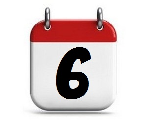 6. Tag des Monats