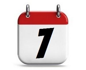 7. Tag des Monats