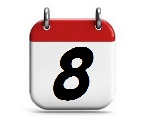 8. Tag des Monats